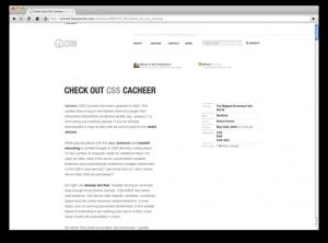 CSS Cacheer