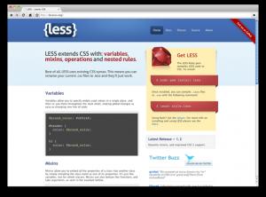 提升开发速度的CSS预处理器